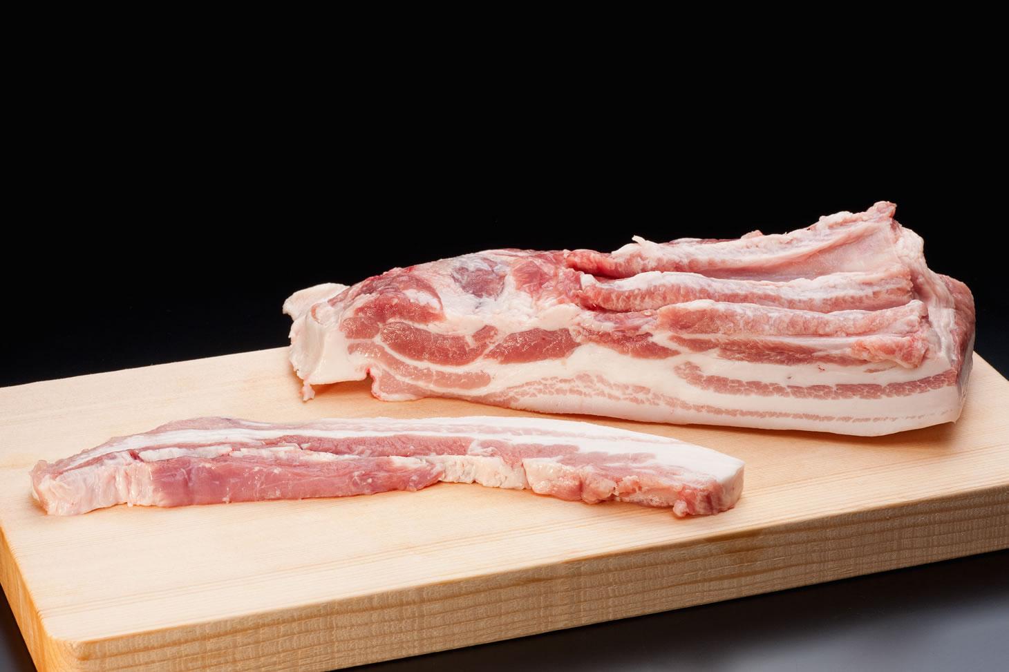 石上ファームの【まごころ豚】ばら肉の画像
