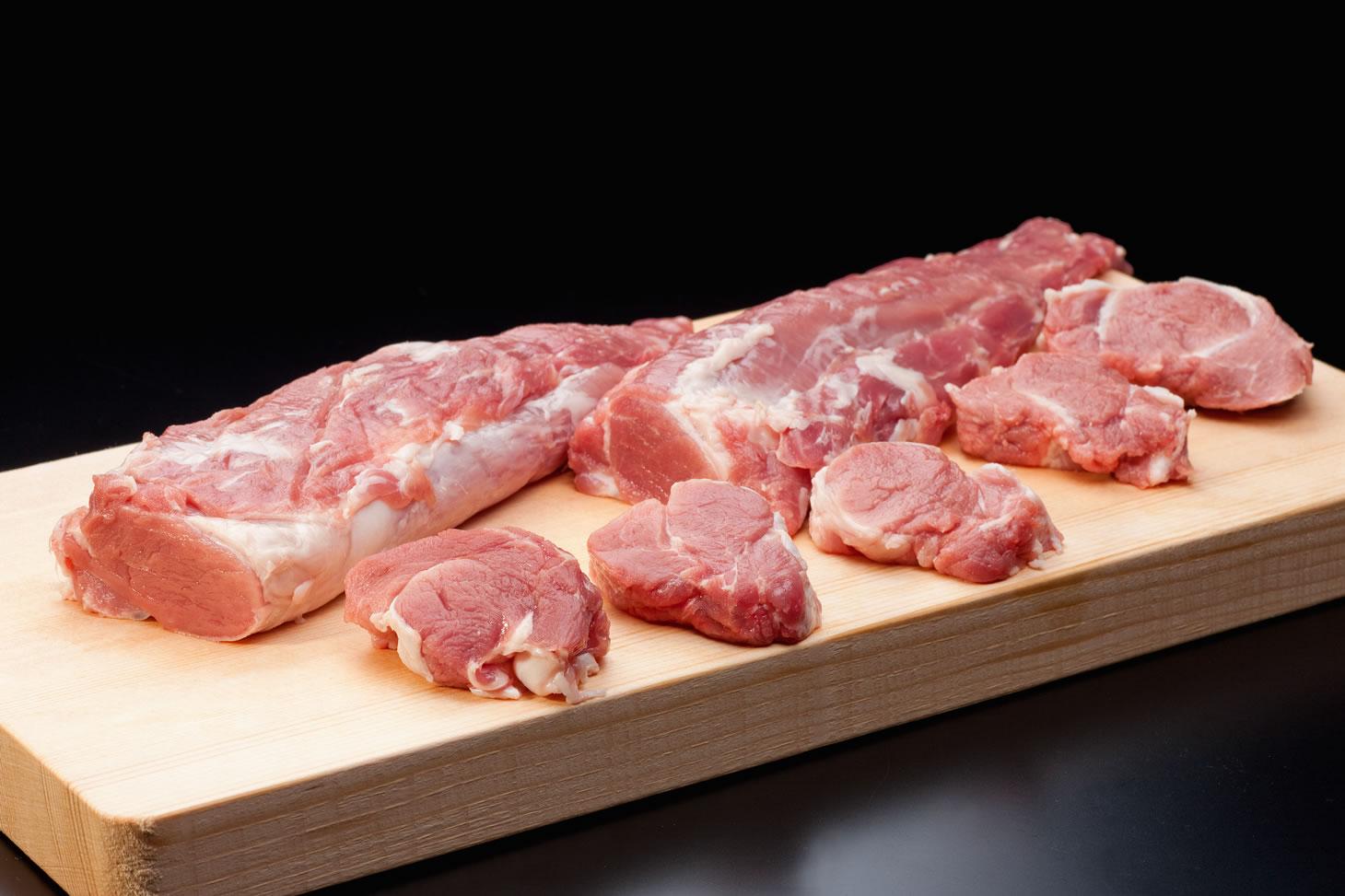 石上ファームの【まごころ豚】ヒレ肉の画像